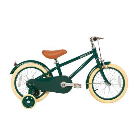 Kółka boczne do nauki jazdy na rowerze Banwood Classic Green