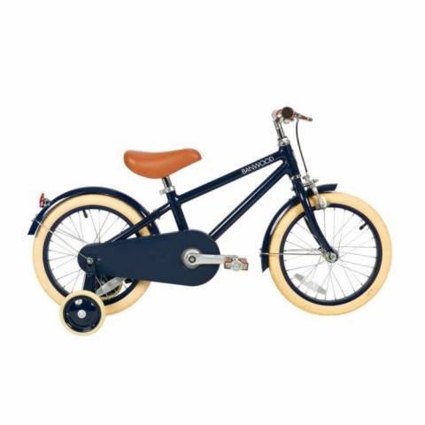 Stylowy rower dziecięcy Banwood Navy Blue