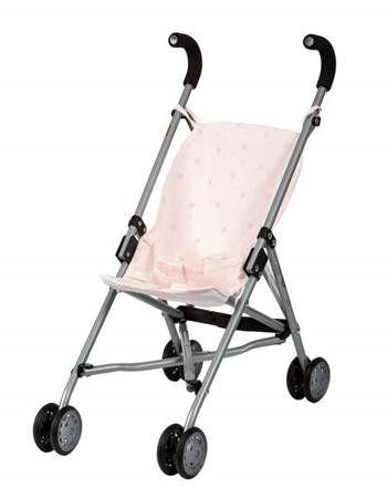 wózek dla lalek spacerówka różowa