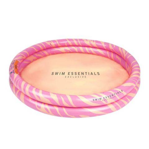 Basen dla dzieci Pastelowa Zebra 100 cm The Swim Essentials