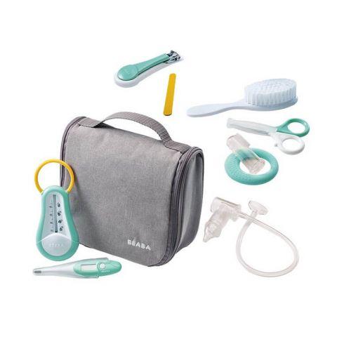 Beaba kosmetyczka z 9 akcesoriami do pielęgnacji grey