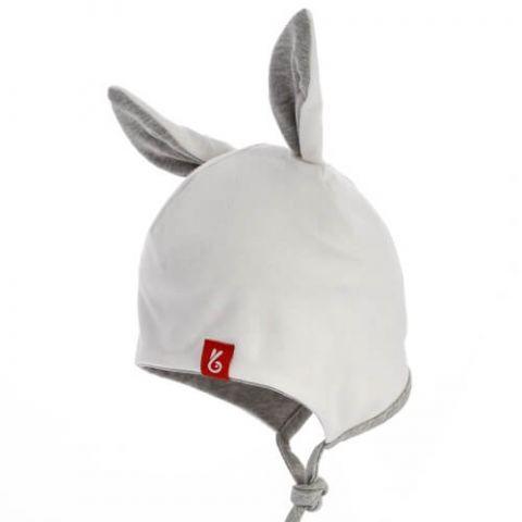 BEXA czapka wiązana GIGI ecru 41