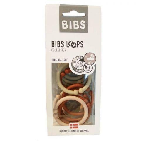 BIBS LOOPS - BLUSH / VANILLA / RUST 12 PACK