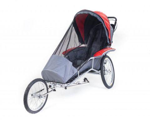 Wózek Kozlik Junior w kolorze czerwonym