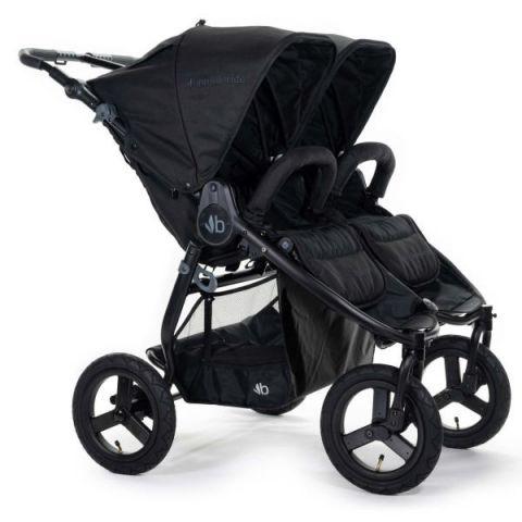 Wózek bliźniaczy Bumbleride Indie Twin (2020) matt black