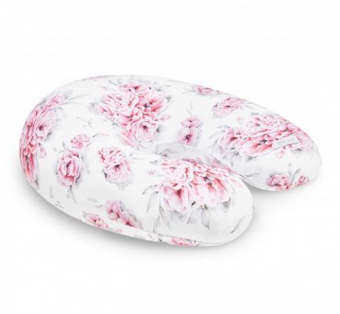 poduszka rogal do karmienia niemowlaka in blossom qbana mama