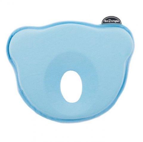 Bo Jungle B-Cosy poduszka z dziurką dla noworodka BLUE Jersey