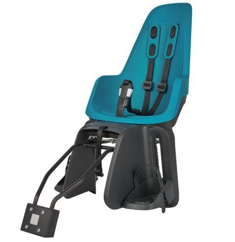 Fotelik rowerowy dla dzieci na bagaznik i ramę BOBIKE ONE bahama blue