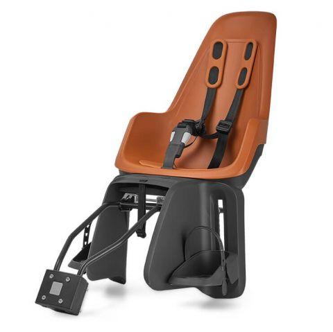 fotelik rowerowy na bagażnik i ramę dla dzieci BOBIKE ONE chocolate brown