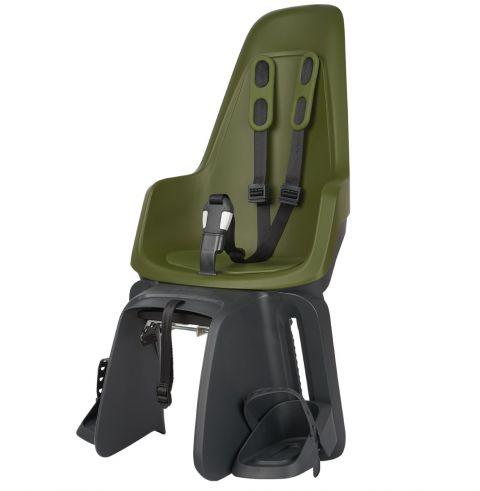 Fotelik rowerowy BOBIKE ONE Maxi na bagażnik Olive Green
