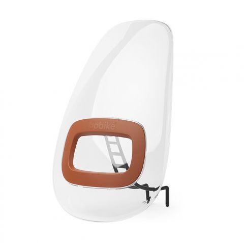 osłona do fotelika rowerowego na przód bobike ONE Mini chocolate brown