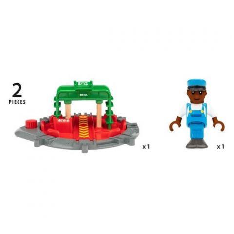 BRIO World Zestaw Obrotnica z figurką 33476