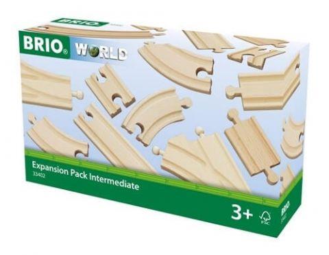 Zestaw torów 16 elementów do kolejki brio
