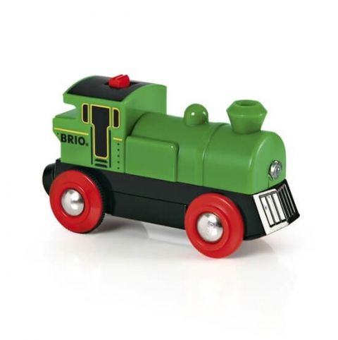 Mała klasyczna lokomotywa na baterię BRIO