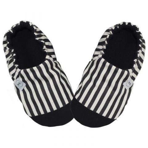 Baby Bisous Papcie B&W Stripes 18