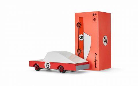 Candycar autko drewniane Red Racer