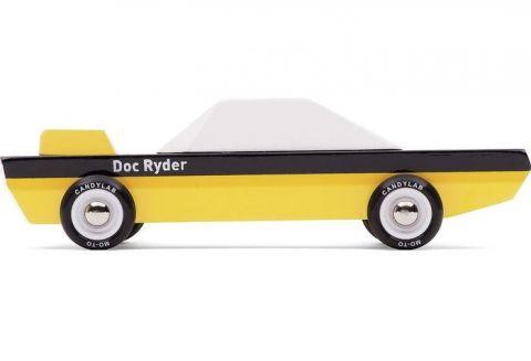 Candycar Drewniany samochodzik do zabawy Doc Ryder