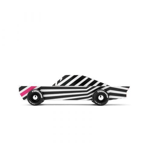 Candycar Drewniany samochód Zebra Ghost