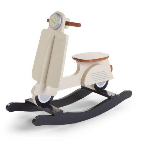 Childhome Bujak na biegunach skuter Vintage Cream