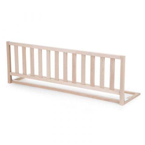 Childhome Drewniana barierka do łóżka 120 cm Natural
