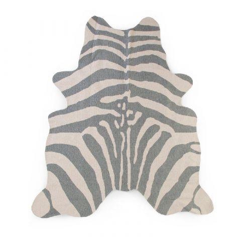Childhome Dywan Zebra 145x160 grey