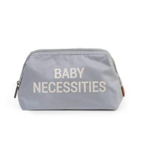 Childhome Kosmetyczka Baby Necessities Szara