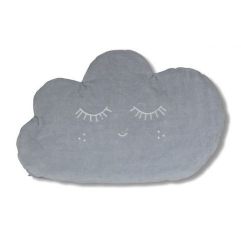Płaska poduszka dla niemowląt chmurka Pink No More