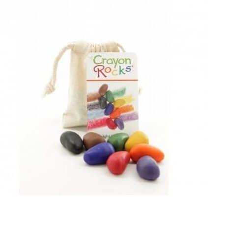Kredki Crayon Rocks w bawełnianym woreczku 8