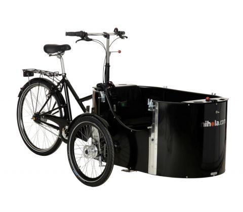 Rower trójkołowy Nihola 4.0 kolor czarny