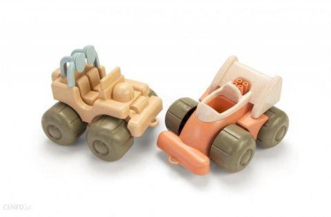 Dantoy BIO zabawka ekologiczna pojazdy zestaw 2 szt. jeep i racer