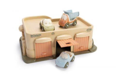 Dantoy BIO zabawka ekologiczna garaż z 3 autami