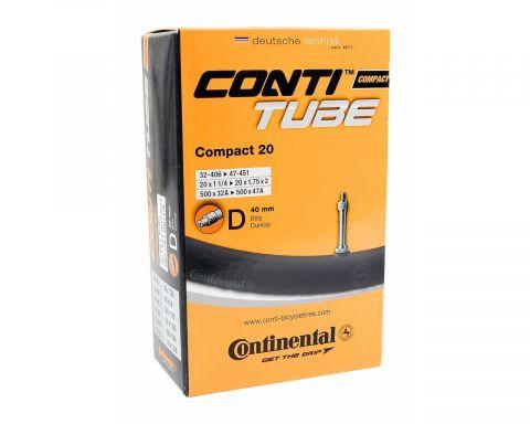 Dętka Conti Compact 20x1 1/4-1.75'' DV