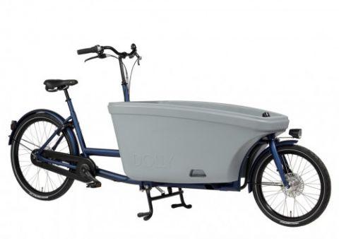 Dolly rower cargo bez napędu blueszary