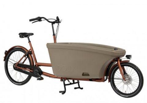 Dolly rower cargo bez napędu miedźbeż
