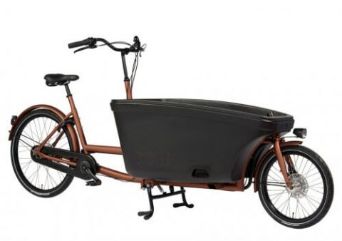 Dolly rower cargo bez napędu miedźczarny