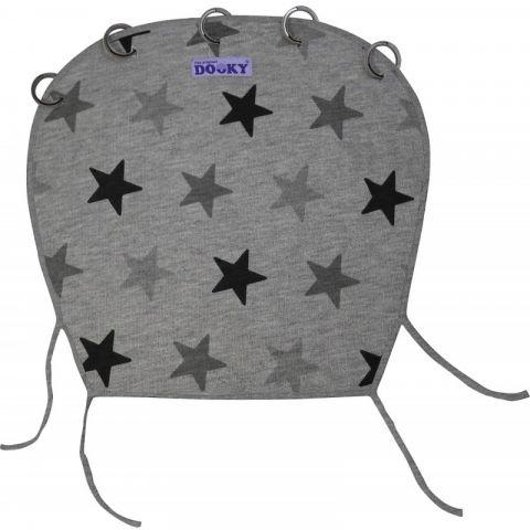 Dooky osłonka do wózka i fotelika Design Grey Stars