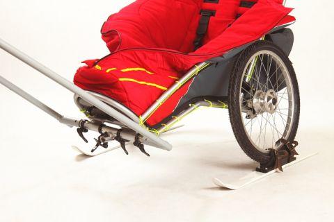 Zestaw narciarsko - trekkingowy dla wózka Kozlik