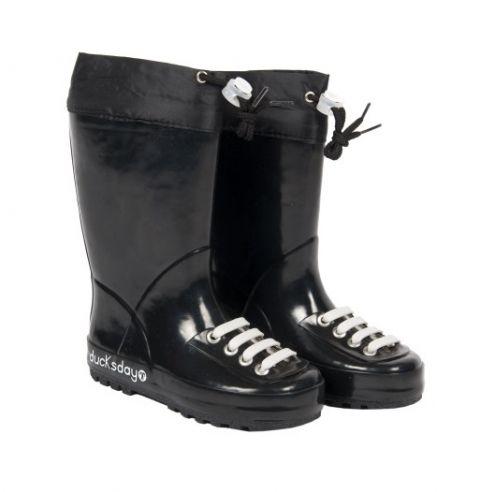 DUCKSDAY buty przeciwdeszczowe BLACK 30