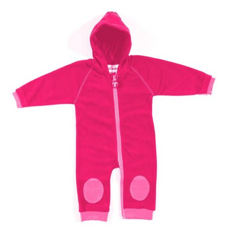 DUCKSDAY kombinezon polarowy fuchsia/pink 92-98