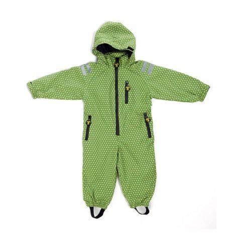 DUCKSDAY kombinezon rainsuit Funky green 98-104