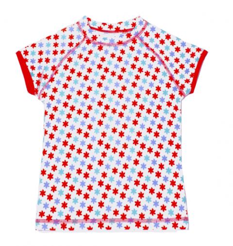 DUCKSDAY koszulka UV50 dziewczęca LILLY 04Y