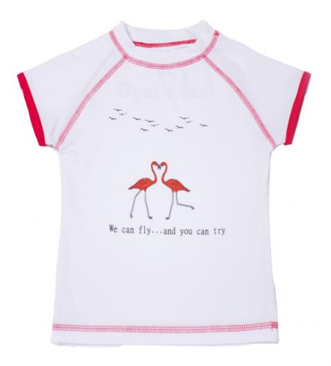 DUCKSDAY koszulka UV50 dziewczęca RIT 04Y