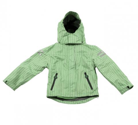 DUCKSDAY Kurtka - odpinany polar Lex/green 06Y