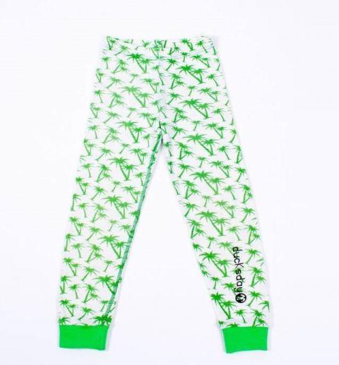 DUCKSDAY piżama spodnie equator 4Y