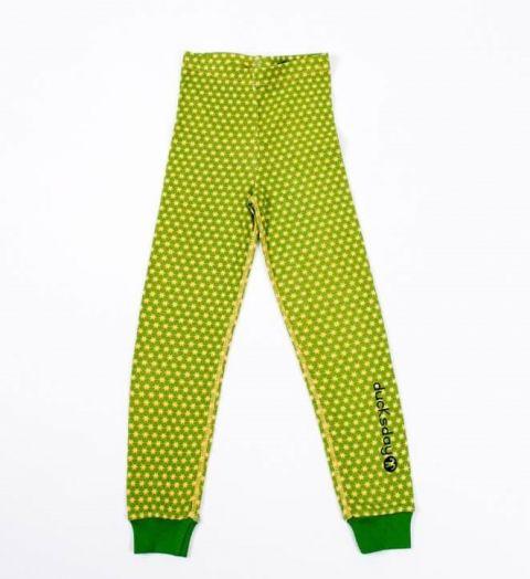 DUCKSDAY piżama spodnie funky green 4Y