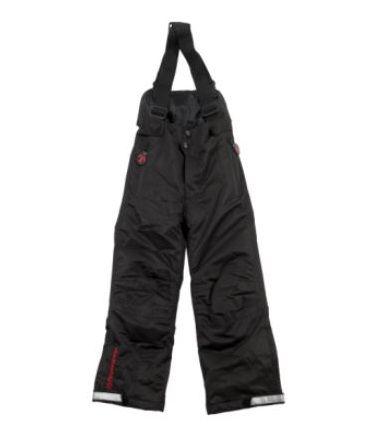 DUCKSDAY spodnie zimowe z szelkami black 10Y