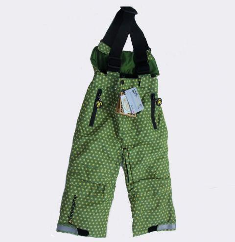 DUCKSDAY spodnie zimowe z szelkami Funky Green 02Y