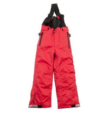 DUCKSDAY spodnie zimowe z szelkami Red 04Y