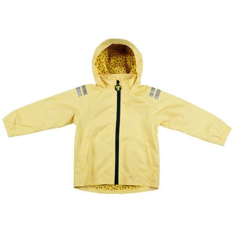 DUCKSDAY dziecięca kurtka przeciwdeszczowa Yellow Falcon 98-104