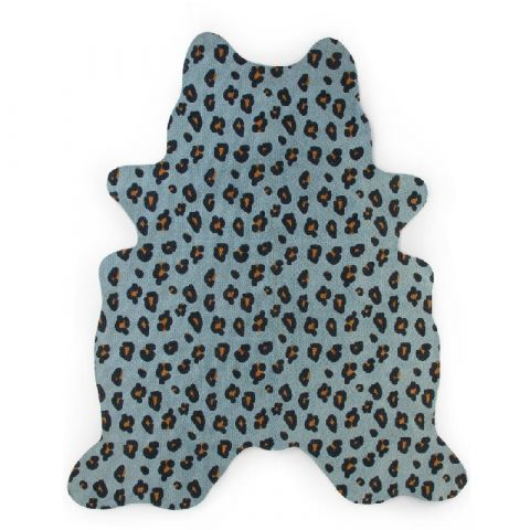 Dywan Leopard 145x160 blue